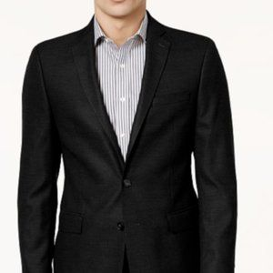 Calvin Klein Black X Slim Fit Wool Sport Coat